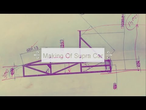 SAE supra making  PART 1 chassis making