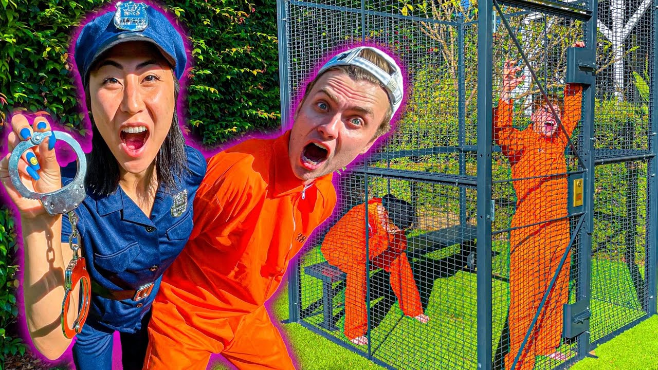 I LOCKED THE BOYS IN A PRISON FOR 24 HOURS!!