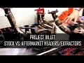 Project Billet - Aftermarket Exhaust Headers/Extractors VS. Stock Subaru