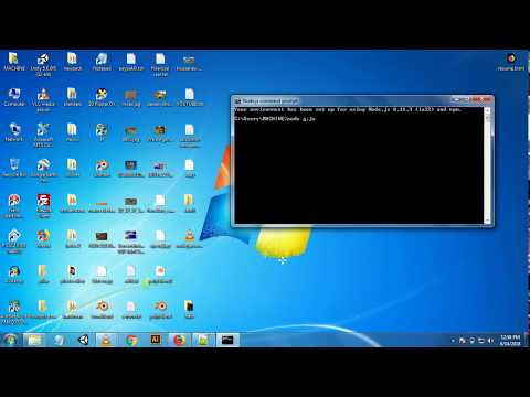 node js port error solved