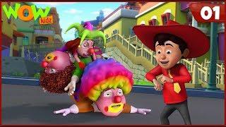 New Cartoon Show   Chacha Bhatija   Wow Kidz   Hindi Cartoons For Kids