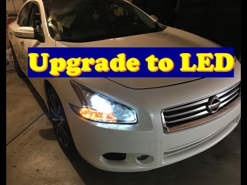 Nissan Maxima How to Change ALL lights to LED