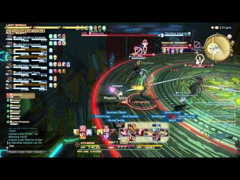 Final Fantasy XIV: A Realm Reborn - Second Coil of Bahamut Turn 2 (Turn 7) Tank Perspective