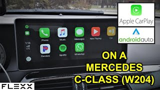 Android Auto with Touch screen for Mercedes Benz W205 C