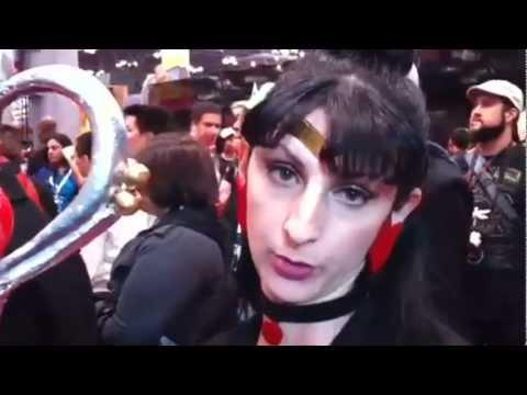 Sailor Pluto Cosplay NYC Comic Con 2012 by Liz Liz