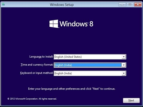 How To: Format/Reformat Laptop with Pre Installed windows 8