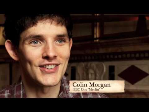 Colin Morgan at Warwick Castle