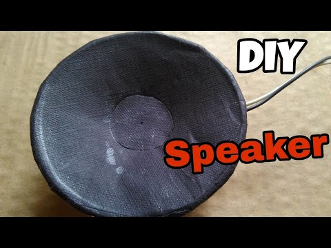 HOW TO MAKE A SPEAKER AT HOME USING PLASTIC CUP