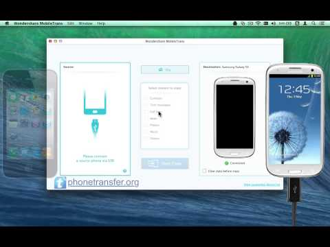 How to Sync iPhone with Galaxy S3 on Mac, Copy iPhone Data to Samsung Galaxy S3 on Mac?