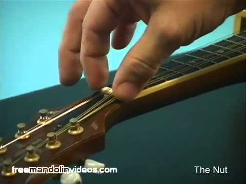How To Adjust Your Mandolin Action - Full Version
