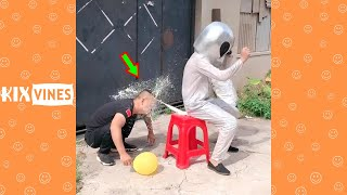 Funny videos 2021 ✦ Funny pranks try not to laugh challenge P186