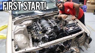 V8 Cressida First Start! (Navo's LS Build)