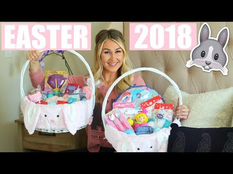 WHAT I GOT MY KIDS FOR EASTER 2018   BABY AND TODDLER EASTER BASKET IDEAS   Tara Henderson
