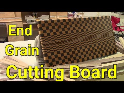 How to Make a 3D  End Grain Cutting Board // Woodshop 101 Cutting Board Build Off