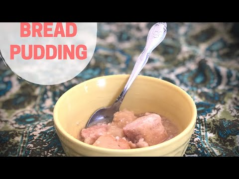Peanut Butter And Nutmeg Bread Pudding