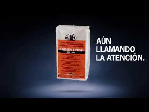 """Campaña """"Aún llamando la atención"""" ARDEX Feather Finish® - anuncio de 25 segundos"""