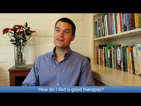 Oakland therapist Justin McGahan - How do I find a good therapist?