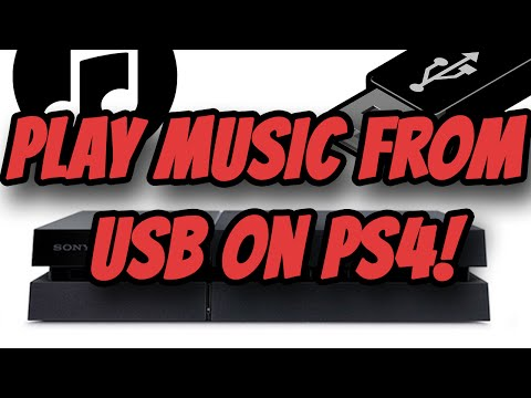 How to play Music from a flash drive on your Playstation 4
