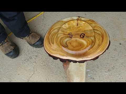 Woodturning : Turtle Shell Burl