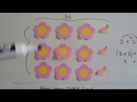 Grade 5 Math #7.7, Multiply Fractions to Find Area of a Rectangle (New Version)