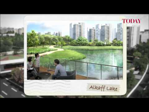HDB fly-through of Bidadari development plan
