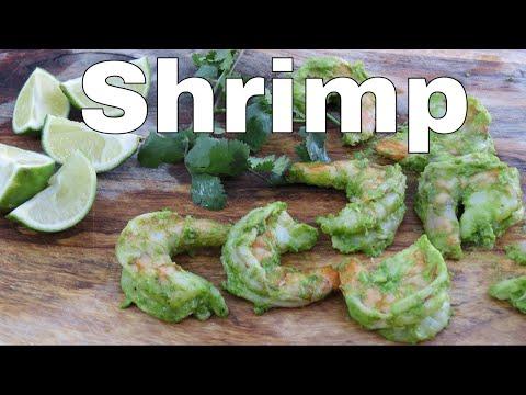 Cilantro Marinated Shrimp | The Frugal Chef