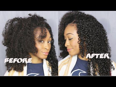 How To Define  Kinky Curly Hair & GIVEAWAY!!! | iAmPrincess