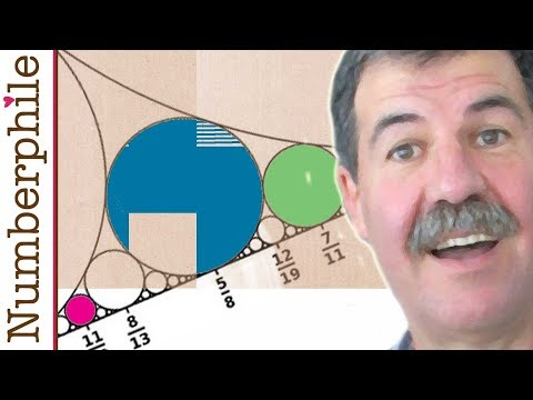 Funny Fractions and Ford Circles - Numberphile
