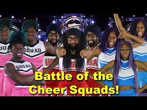 Battle of the Cheer Squads! 🔥😂   Random Structure TV