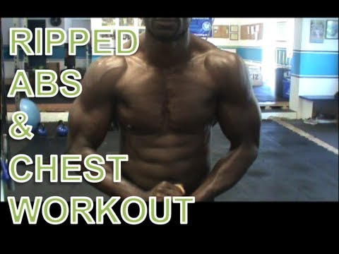 RIPPED ABS AND CHEST WORKOUT - FUNK ROBERTS