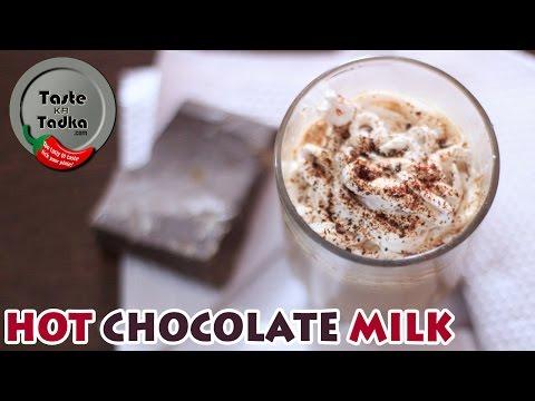 Hot Chocolate Milk Recipe in 2 Minutes | Winter Special [English Subtitles]