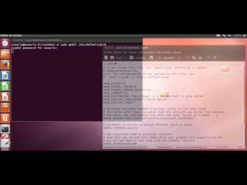 Cambio de la resolución de Grub 2 en Ubuntu 12.04