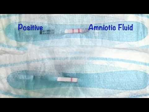 A New Self-Test for Amniotic Fluid Leakage