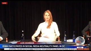 LIVE: RSBN at Social Media Neutrality Panel in Washington DC 2/6/17