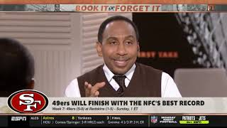 Stephen A.Smith: 49ers will finish with the NFC