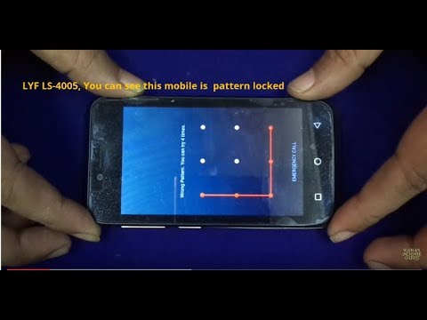 HOW TO HARD RESET (PATTERN UNLOCK) LYF FLAME 6 LS-4005 Mobile