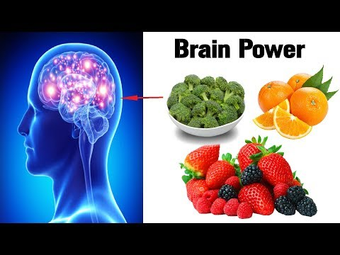 8 Best Foods To Improve Your Brain Power
