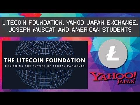 Litecoin Foundation, Yahoo Japan Exchange, Joseph Muscat and More