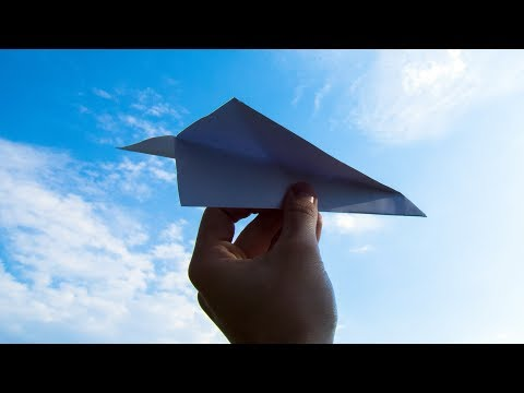 How to Make Paper Airplanes  that fly over 1000 ft !