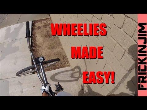 How to Wheelie a Fixed Gear /