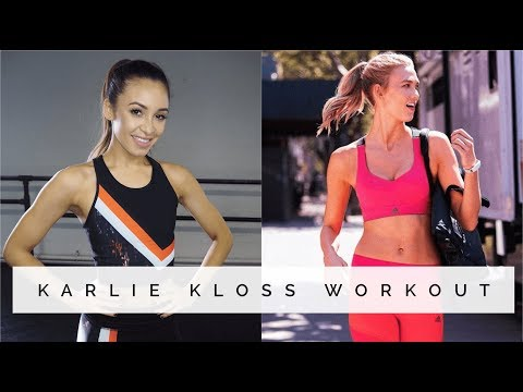 SUPERMODEL LEG TONING WORKOUT | KARLIE KLOSS | Danielle Peazer