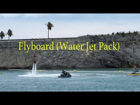 Flyboard (water Jet Pack) & FlowRider (Surf Simulator Anthem of the Seas Cruise )