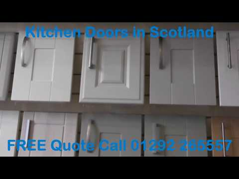 Kitchen Doors Scotland - Call 01292 265557 for FREE quote.