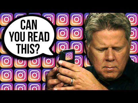 How A Blind Person Reads Comments on Instagram