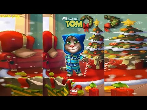 My Talking Tom Christmas Update 2016 Gameplay HD