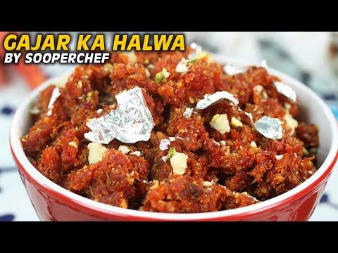 Gajar Ka Halwa Recipe | Best Gajar Halwa Recipe | How to make Gajar ka Halwa by SooperChef