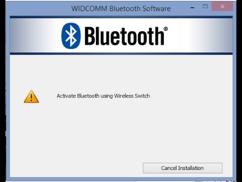 Active Bluetooth using wireless Switch 100 % solution dell Inspiron 3542