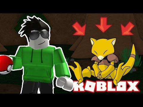 CATCHING ABRA! - Roblox Pokemon Brick Bronze