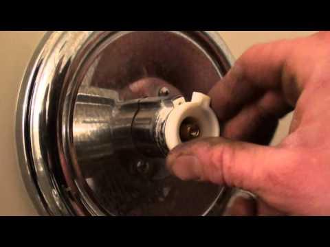 diy setting the gears or anti scald  moen 1222 posi temp faucet