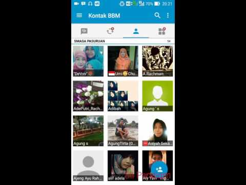 Tutorial BBM Android dan BBM Video Call Resmi